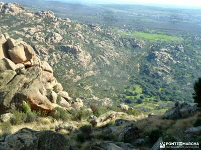 Gran Cañada-Cerro de la Camorza; parque natural de la sierra de hornachuelos  aracena excursiones si